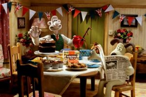 Wallace and Gromit Stir Up the Nation for a Great British Tea Party