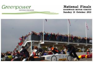 Young Drivers Race to the Greenpower National Finals at Goodwood this October