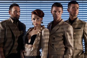 Feel Like Dancing? Scissor Sisters Perform Live at Sandown Park Racecourse