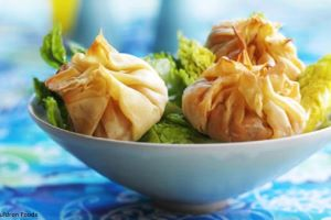 Sweet Potato & Chilli Marinated Tofu Parcels