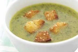 Good Oil - Watercress Soup and Sesame Croutons
