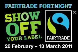 Show Off Your Label for Fairtrade Fortnight