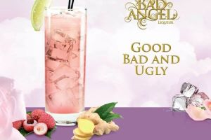 Getting into the Festive Spirit with Bad Angel Pink Lychee Liqueur