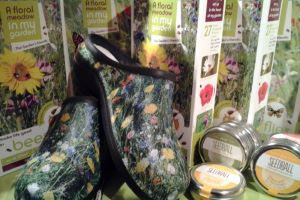 Win a Pair of Wildflower Backdoor Shoes and Butterflies Flower Meadow Seeds.