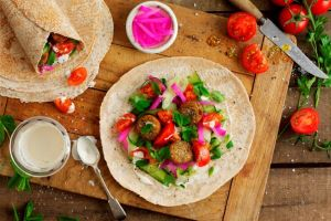 Keep Up Your Resolutions While On the Go with Just Falafel