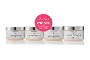 HOLISTIC ESSENTIALS Skin-Radiance Exfoliating Creams win Natural Beauty Award