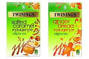 Twinings Introduce Gingerbread, Caramelised Apple and Salted Caramel Sweet Green Tea Range
