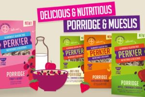 Perking Their Way Across the UK with a Fabulous Range of PERK!ER Gluten Free Breakfasts