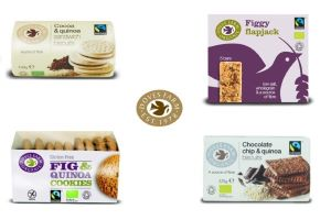 Doves Farm Fairtrade Organic Snack Bars and Biscuits