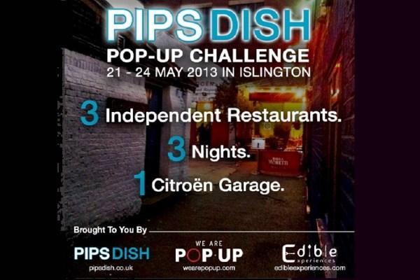 PipsDish, Islington to Host Three of London's Hottest Rising Pop-up Restaurateurs