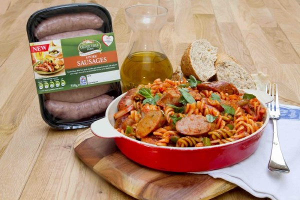 Make a Mediterranean Feast with new Olive Hill Farm Sausages