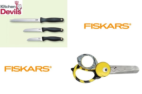 Preparing for the Start of Term with Students Kitchen Devils and Fiskars Kids Scissors