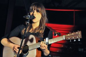 Gabrielle Aplin Entertains 'Marriot' Style