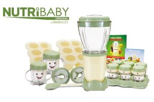 A Sure Start to Weaning with the Nutri Baby Bullet from High Street TV