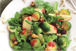 Christmas Brussels Salad