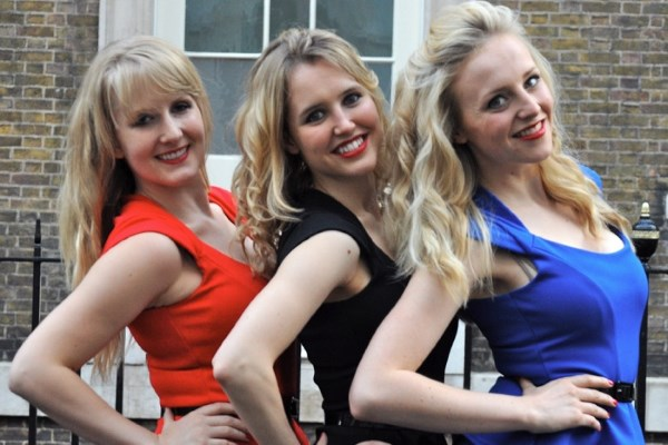 The Blondettes at the Edinburgh Fringe 2012