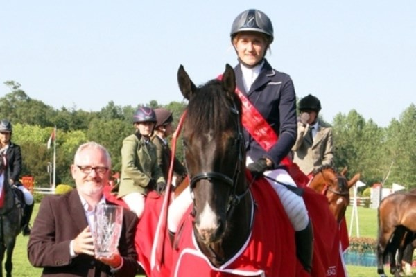 Hurstpierpoint College Student takes Top Prize at Hickstead