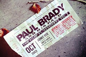 Win a CD of Paul Brady - The Vicar Street Sessions Volume 1