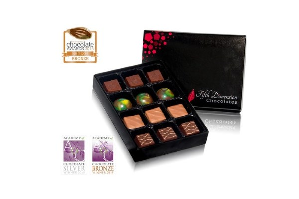 Win a Selection of Award-Winning Fifth Dimension Chocolates with Discover Cacao
