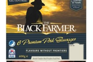 Celebrating Sausage Week with The Black Farmer