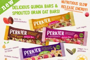 Advent Day 4 - Win a Selection of PERK!ER Quinoa and Sprouted Oat Bars