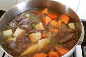 One Pot Lamb Stew