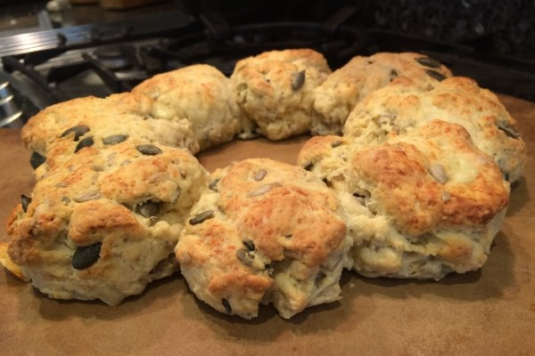 Tear and Share Cheese Scones