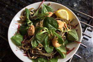 Thai Prawns with I Sea Pasta