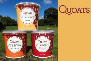 Day 12 - Win a Month's Supply of Quoats Brilliantly British Porridge Pots