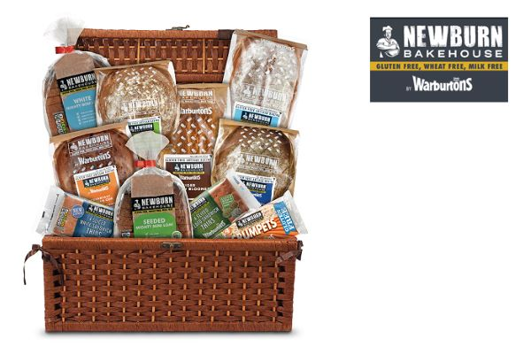 Win an assortment of Gluten-Free Goodies from Newburn Bakehouse by Warburtons
