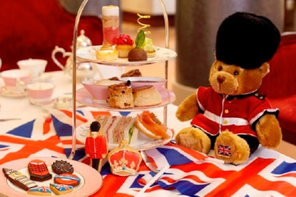 A Very British Afternoon Tea